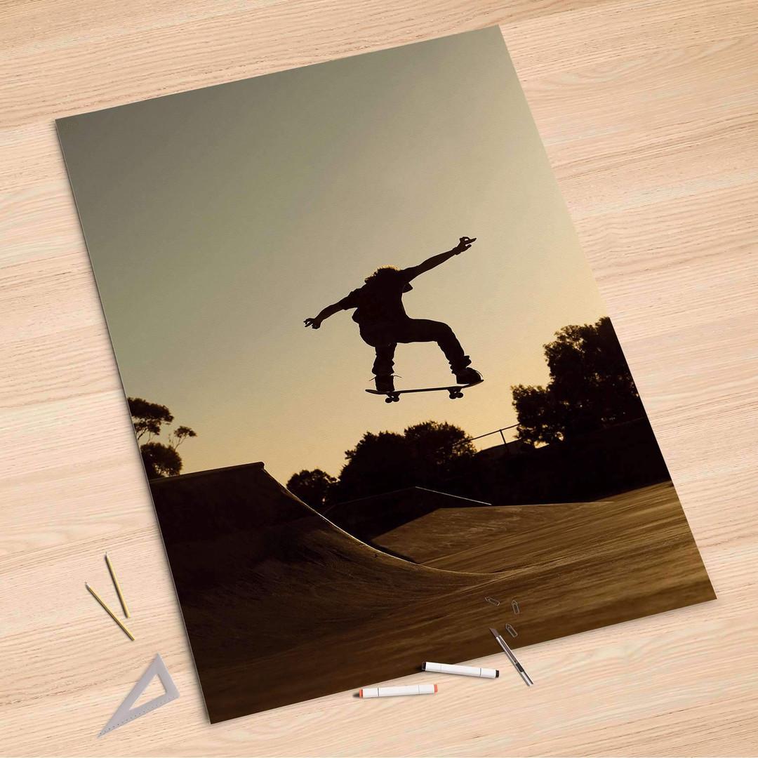 Folienbogen (100x150cm) - Skater - CR106264