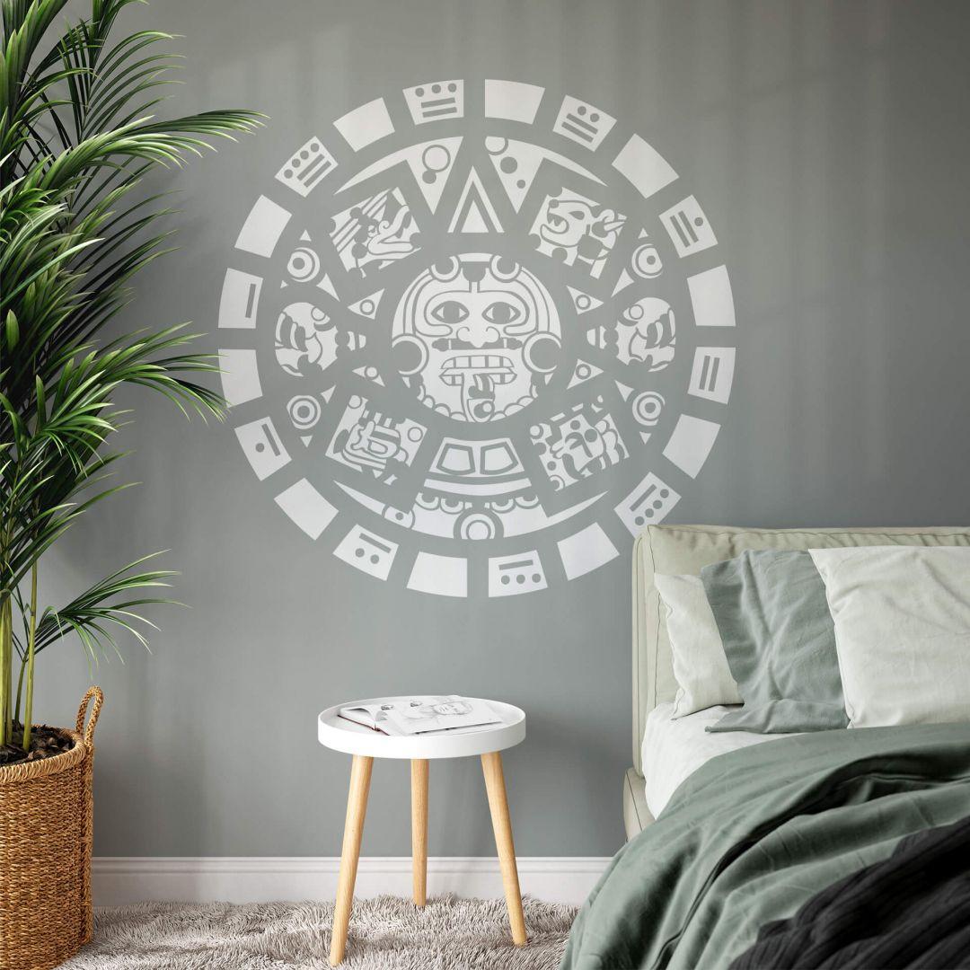 Wandtattoo Maya Maske - WA287771