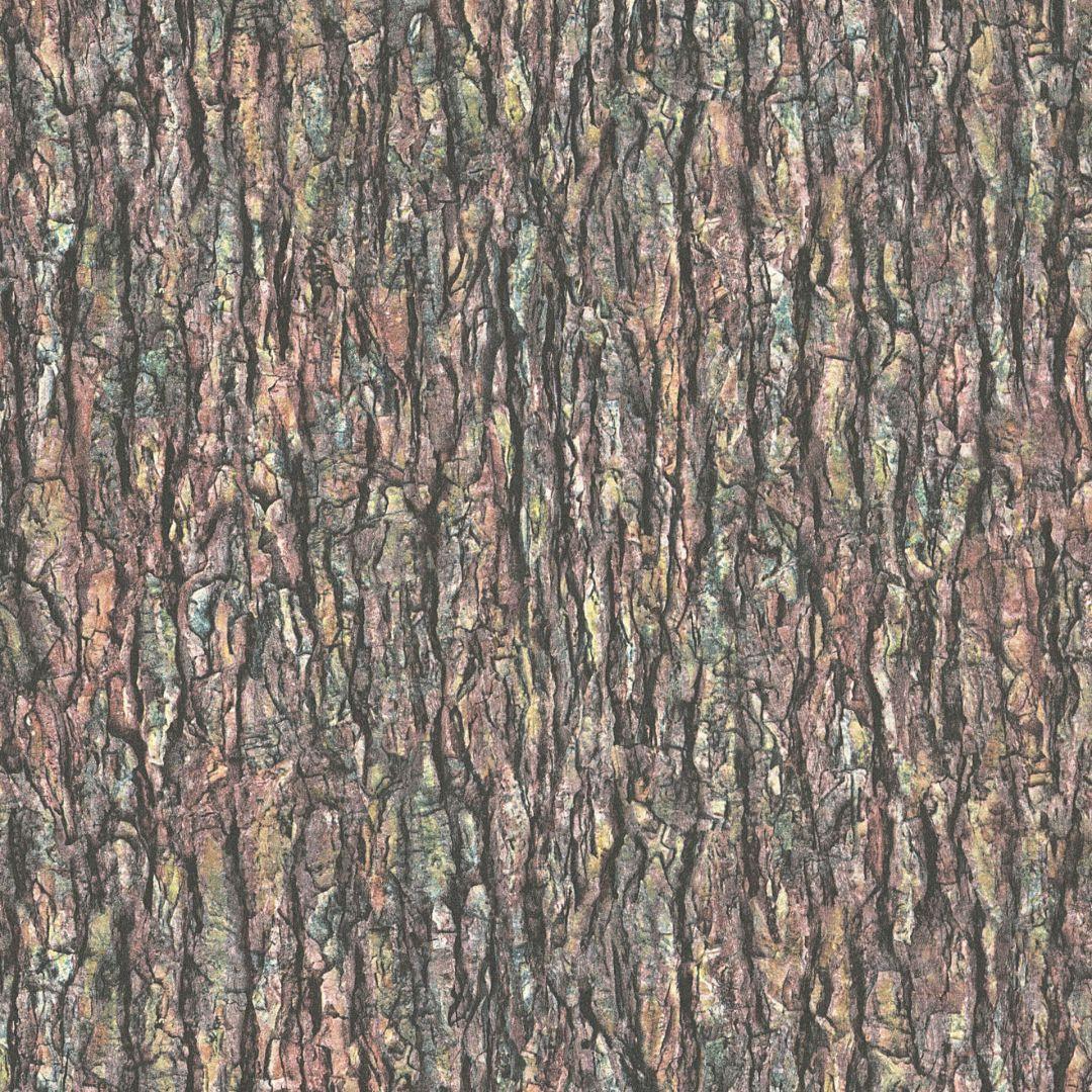A.S. Création Vliestapete il Decoro Tapete in Baumrinden Optik beige, braun, grün - WA268301