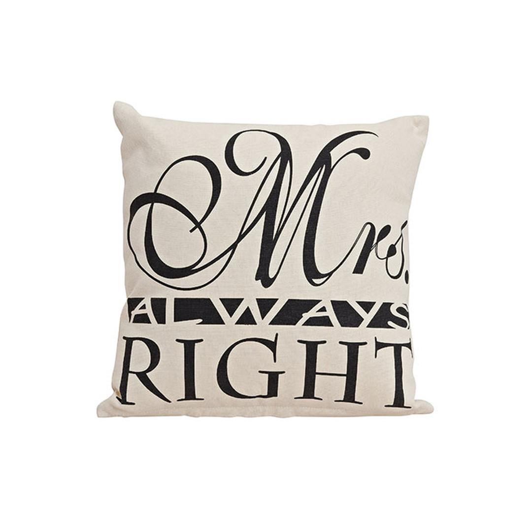 Kissen Mrs. Always Right - WA253657