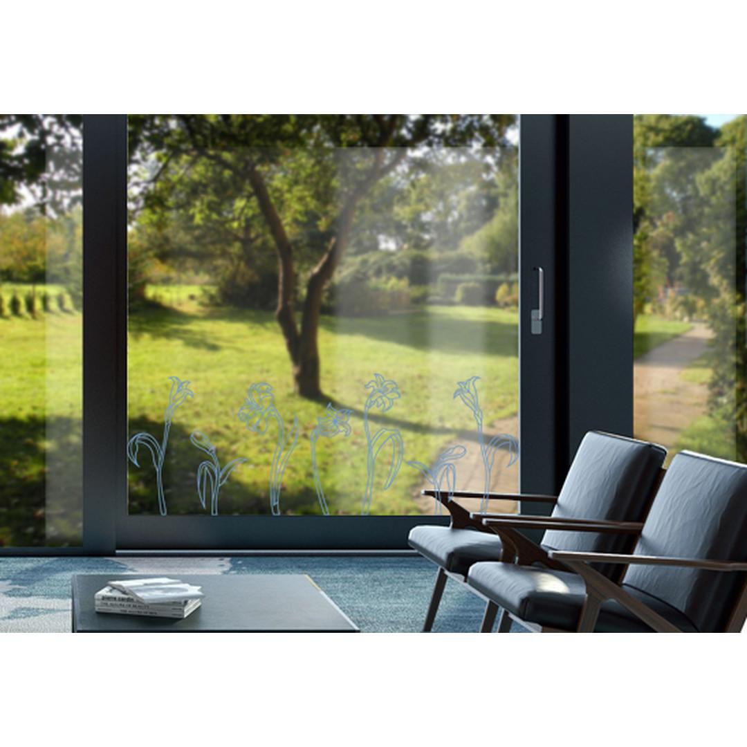 Glasdekor Jugendstil Narzissen - CG10373