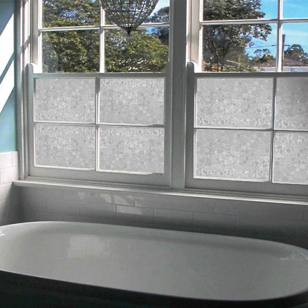 Sichtschutzfolie Kieselsteine 45 x 150cm - WA283357