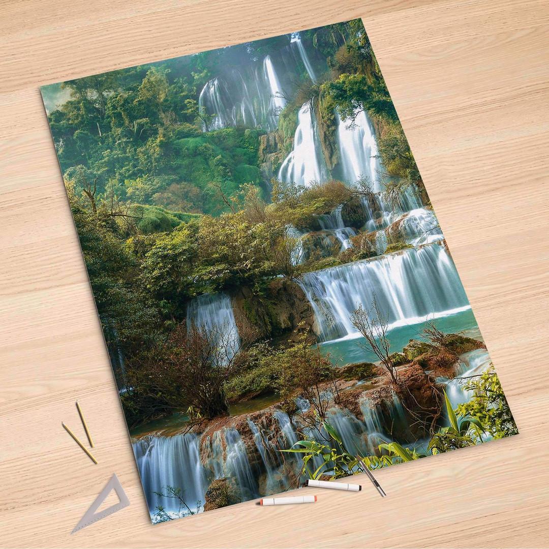 Folienbogen (100x150cm) - Rainforest - CR106246