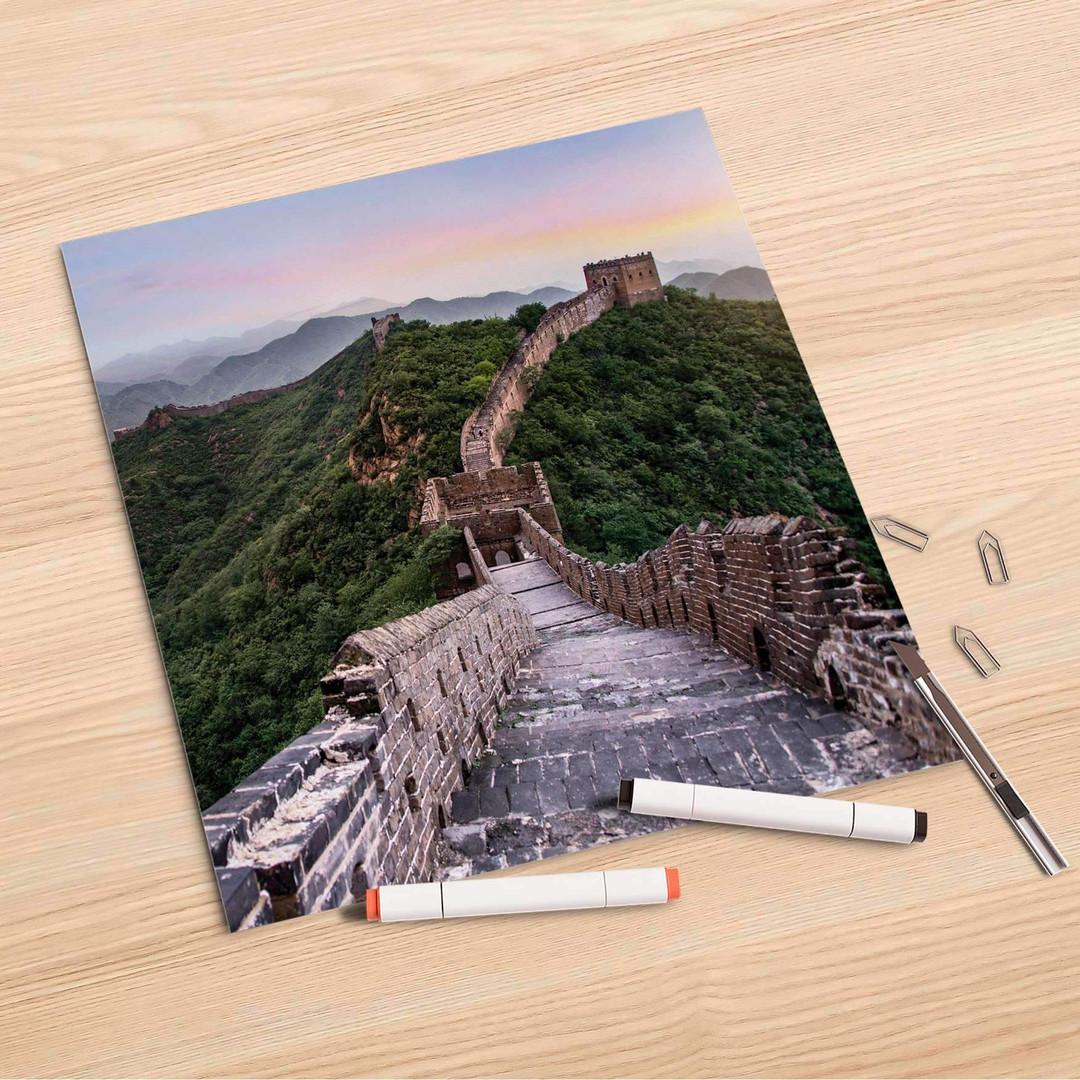 Folienbogen (30x30cm) - The Great Wall - CR106967