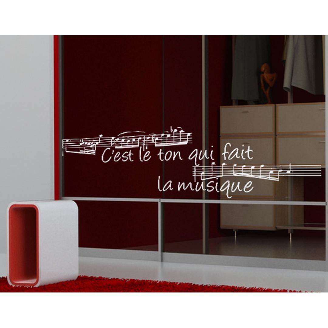 Glasdekor La Musique - CG10363