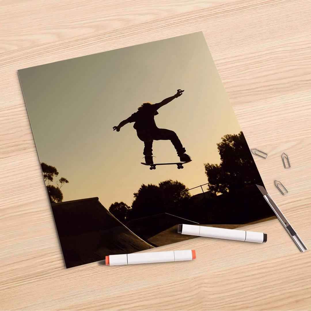 Folienbogen (30x30cm) - Skater - CR106937