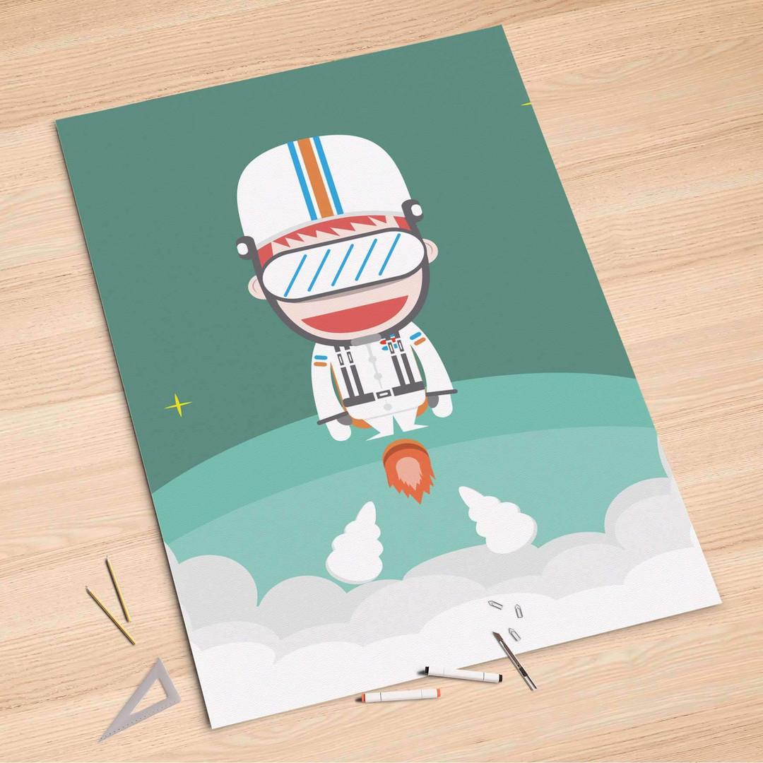 Folienbogen (100x150cm) - Rocket Boy - CR106253