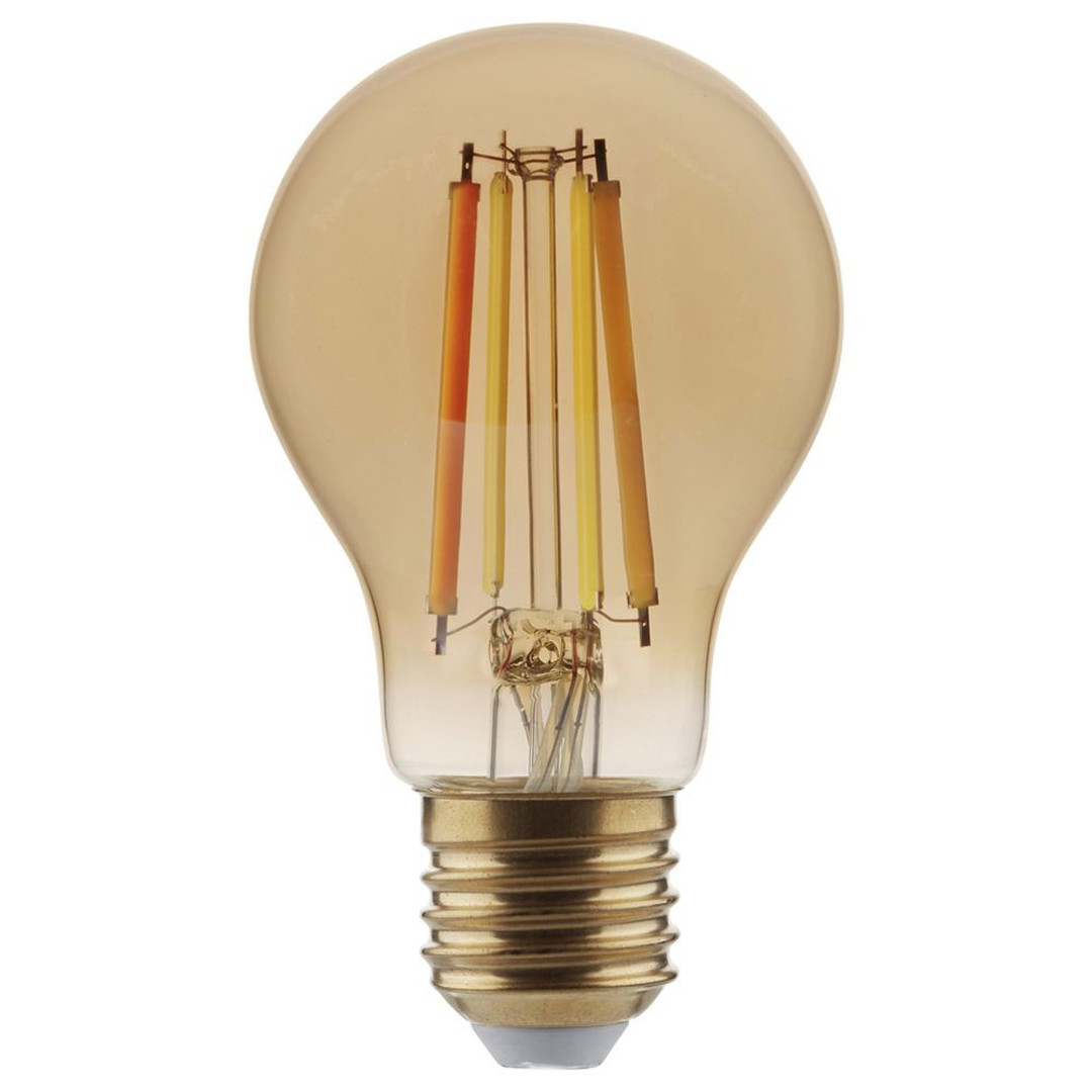 SHYNE   LED Leuchtmittel E27. amber, Birne - A60. 8.5W, 780 Lumen, 2200K, dimmbar - CL119947