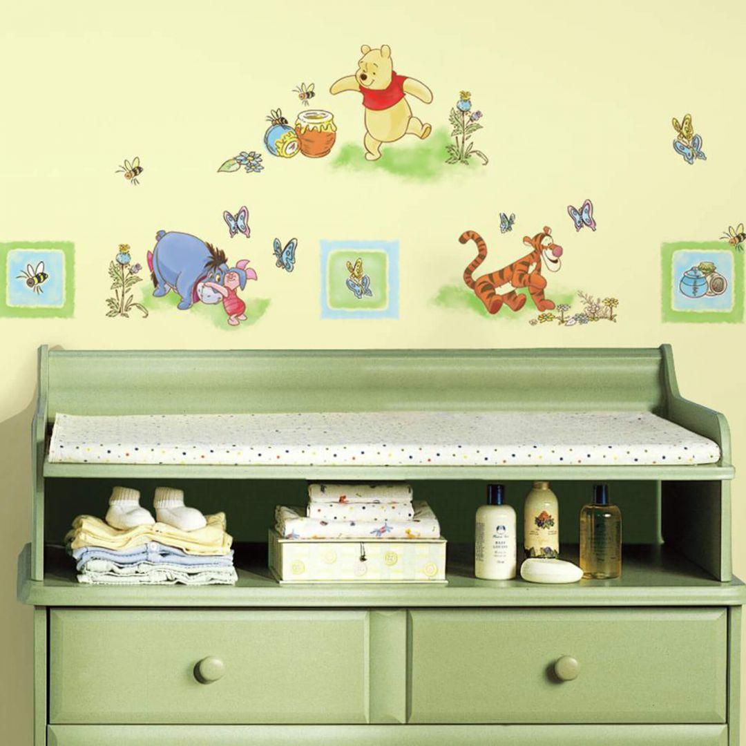Wandsticker-Set Winnie Puuh - Sticker für Kleinkinder - WA260130