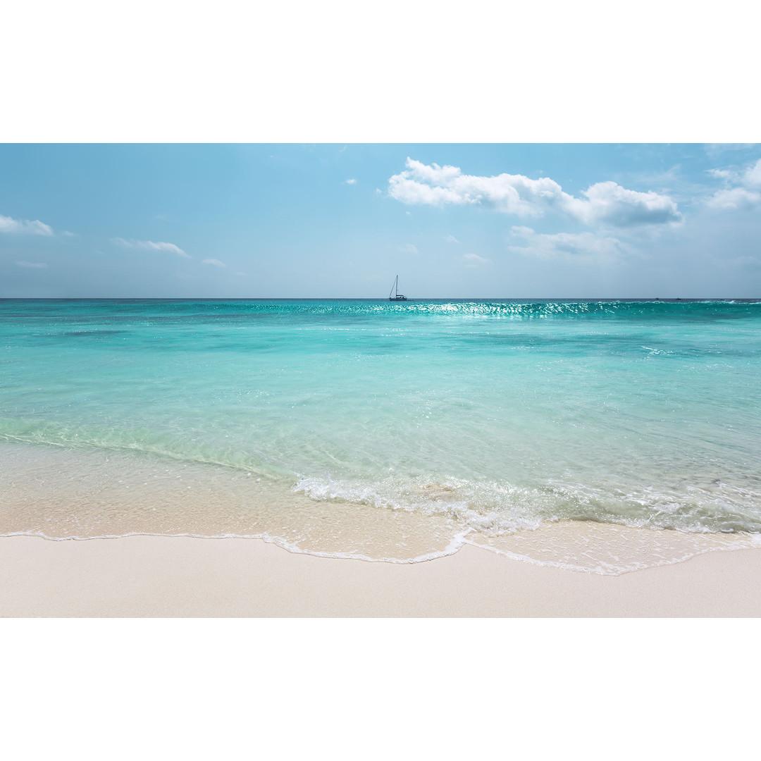 Sonderanfertigung Exklusive Vliestapete Azur Ocean - KOPSH097-VD4-ONE