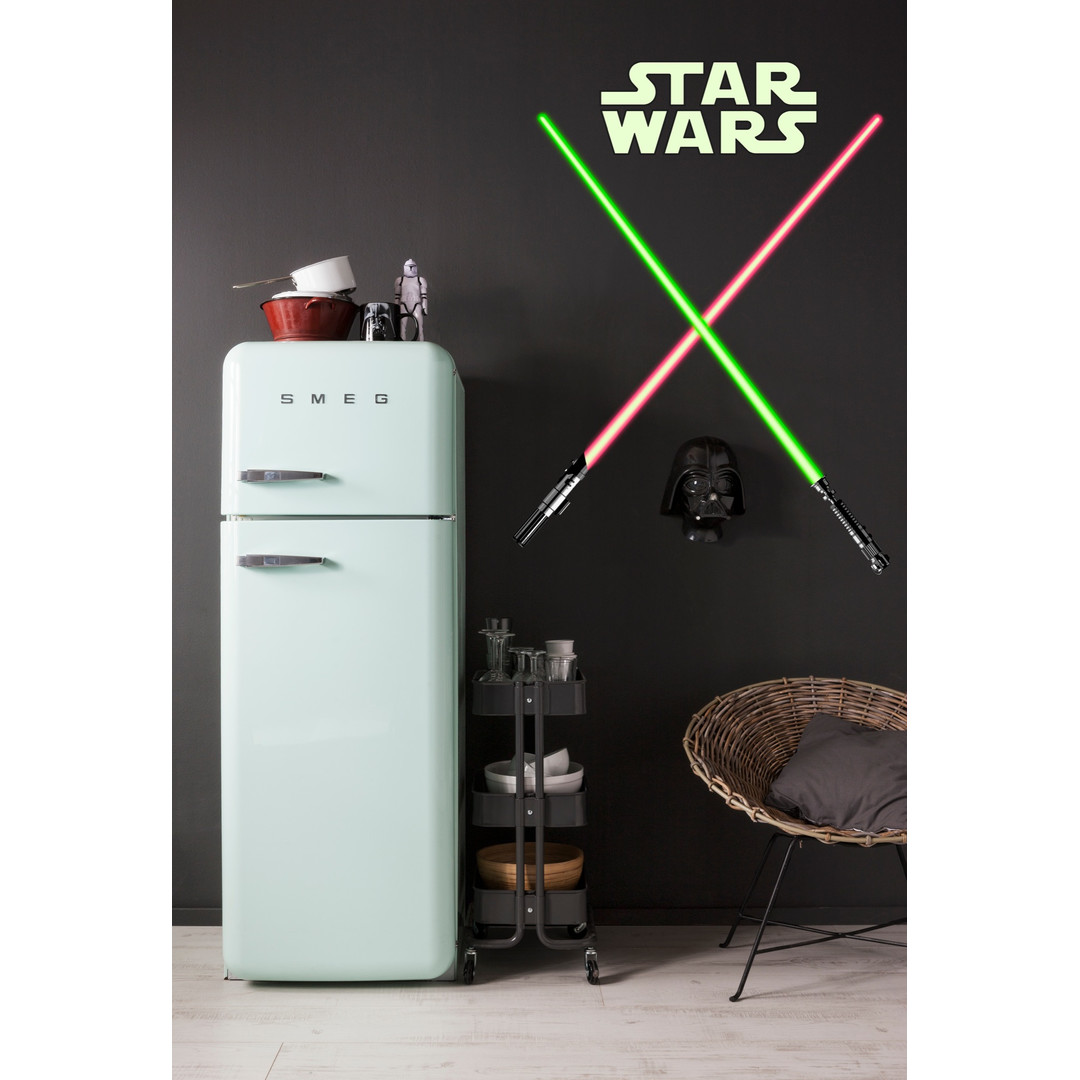 Wandsticker Star Wars Lightsaber - KO14020h
