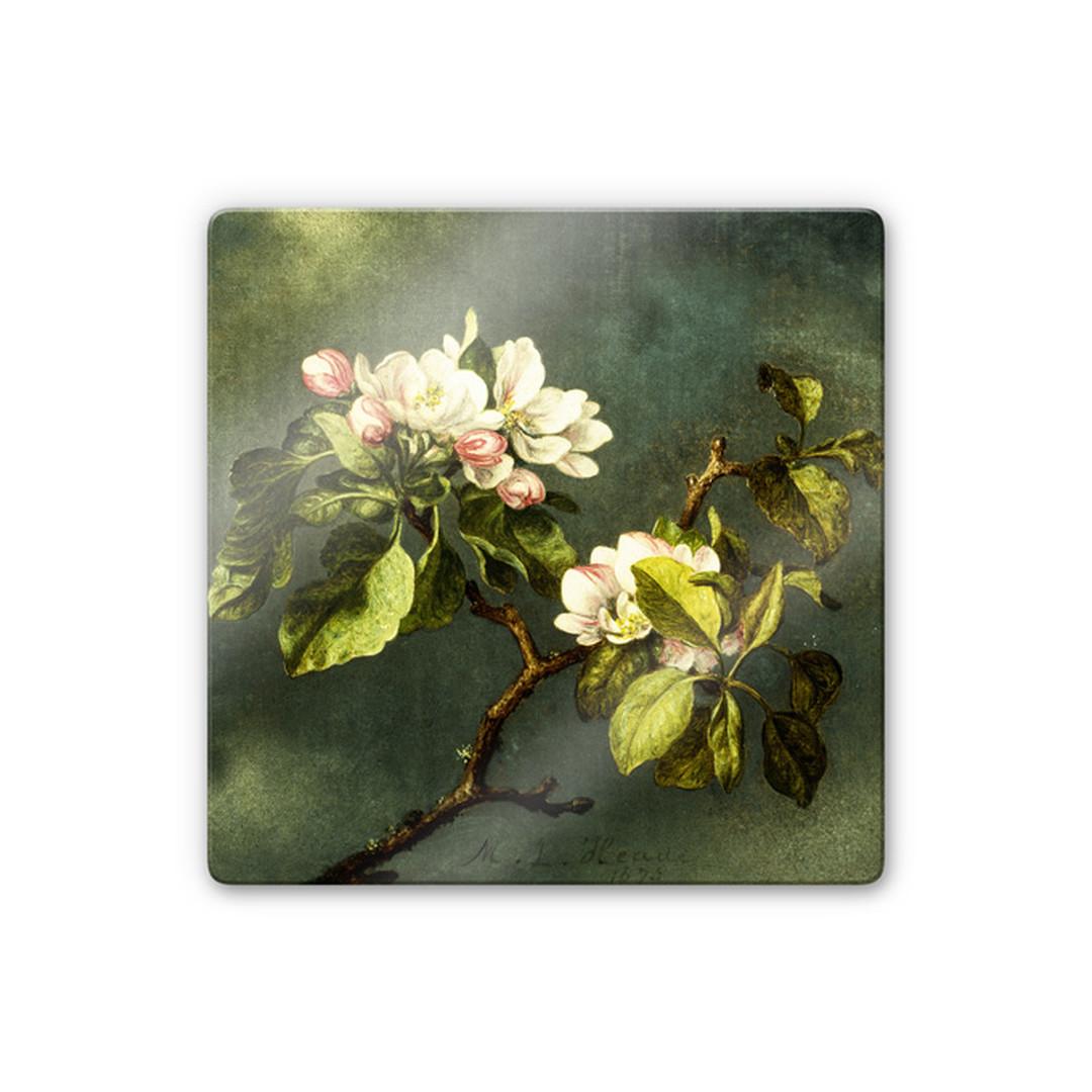 Glasbild Heade - Apfelblüten - WA252838