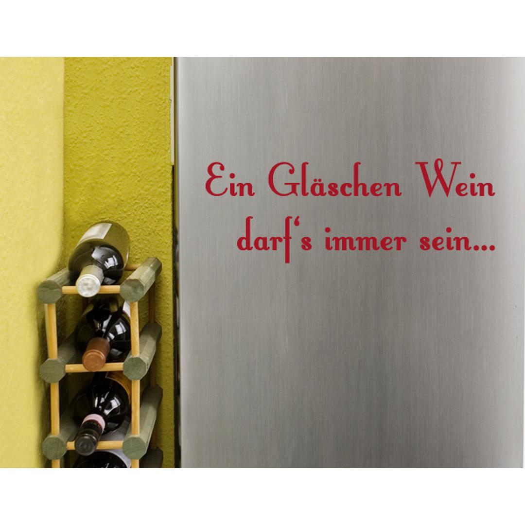 Wandtattoo Ein Gläschen Wein - TD16422