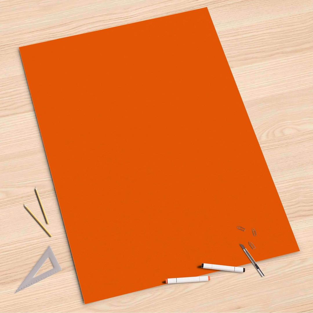 Folienbogen (80x120cm) - Orange Dark - CR107382