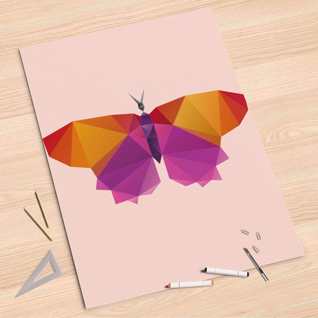 Folienbogen (80x120cm) - Origami Butterfly - CR107384