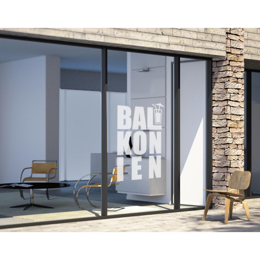 Glasdekor Balkonien - CG10242