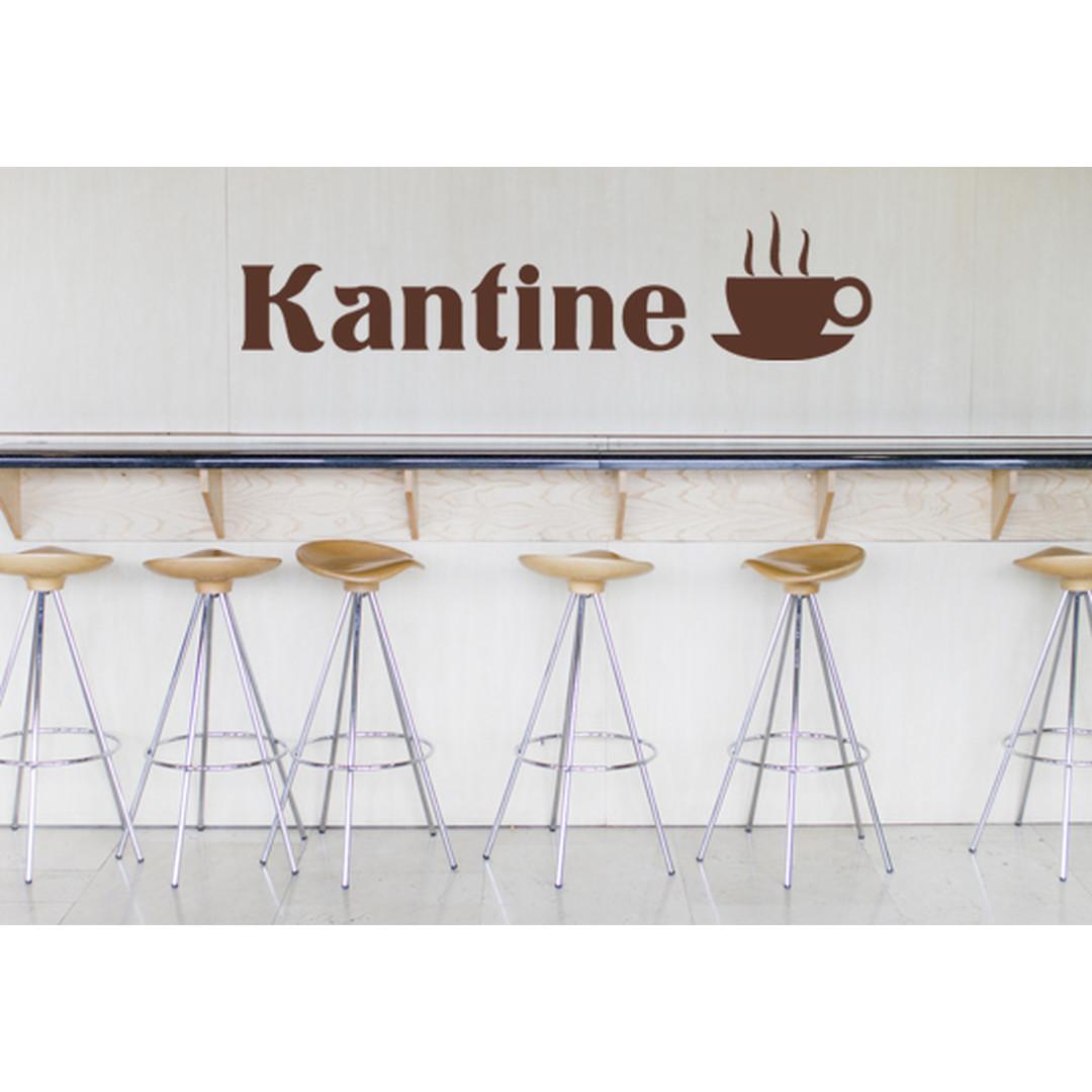 Wandtattoo Kantine - CG10078