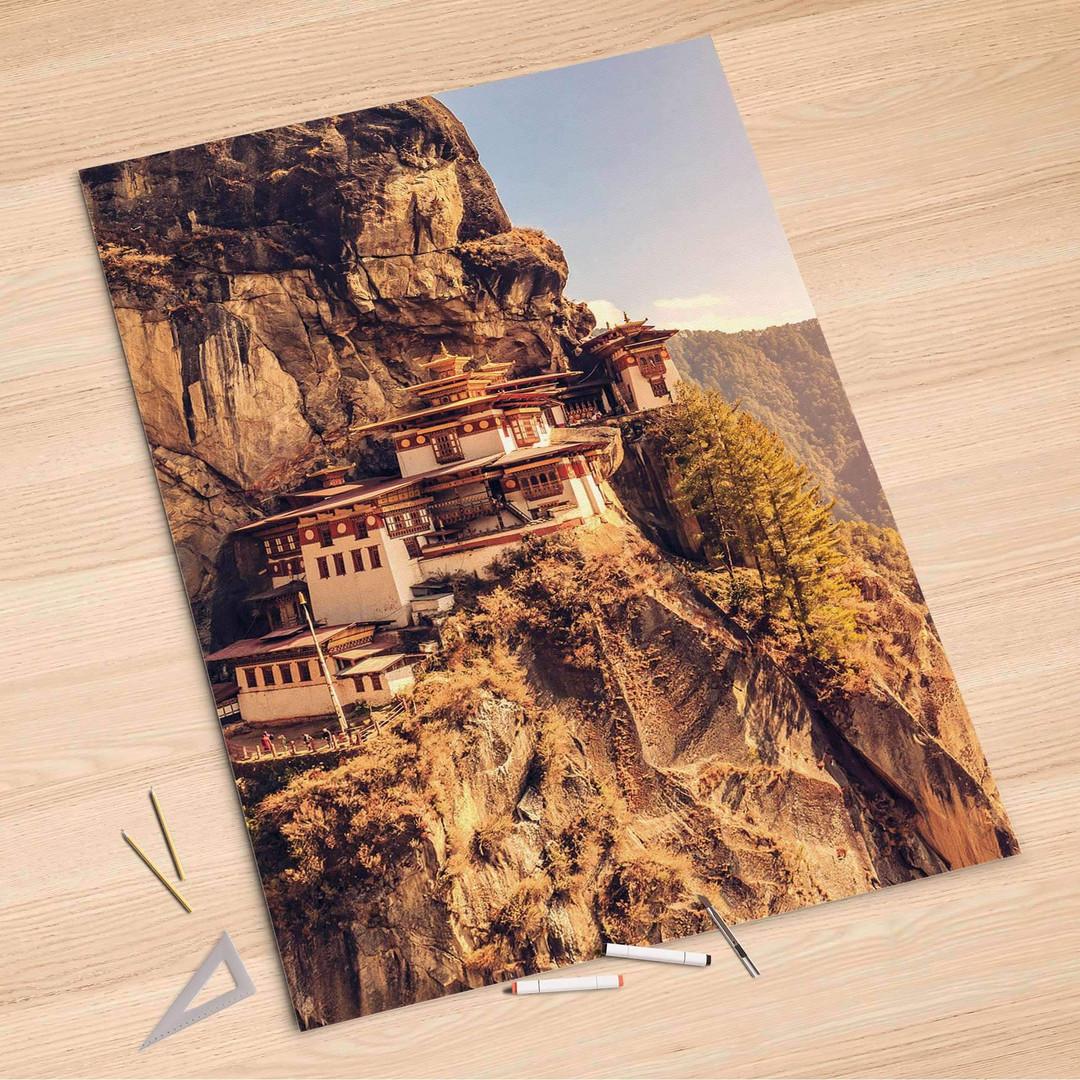 Folienbogen (100x150cm) - Bhutans Paradise - CR106118