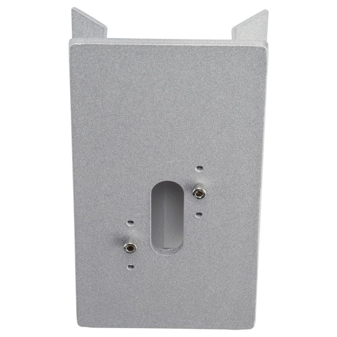 Eckblock silber, Aluguss, 90°, 215x115x75mm - CL101908