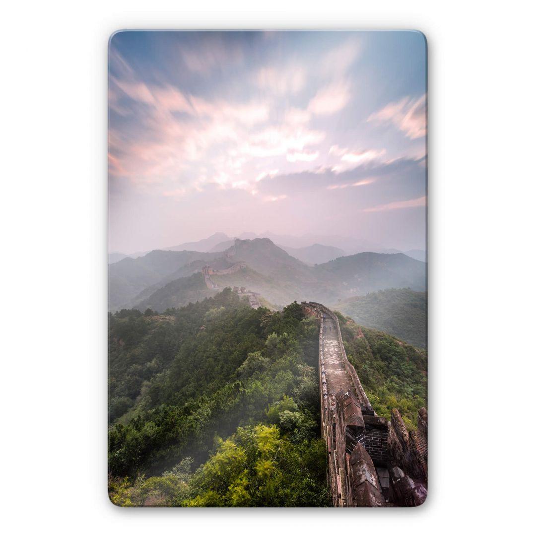 Glasbild Colombo - Die Chinesische Mauer - WA252712