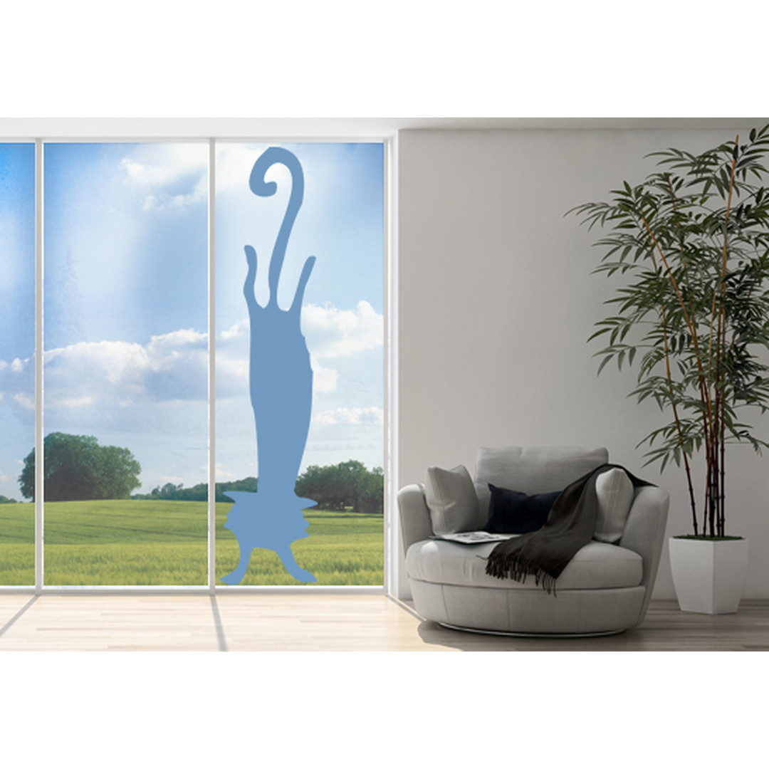 Glasdekor Katzen Handstand - CG10220