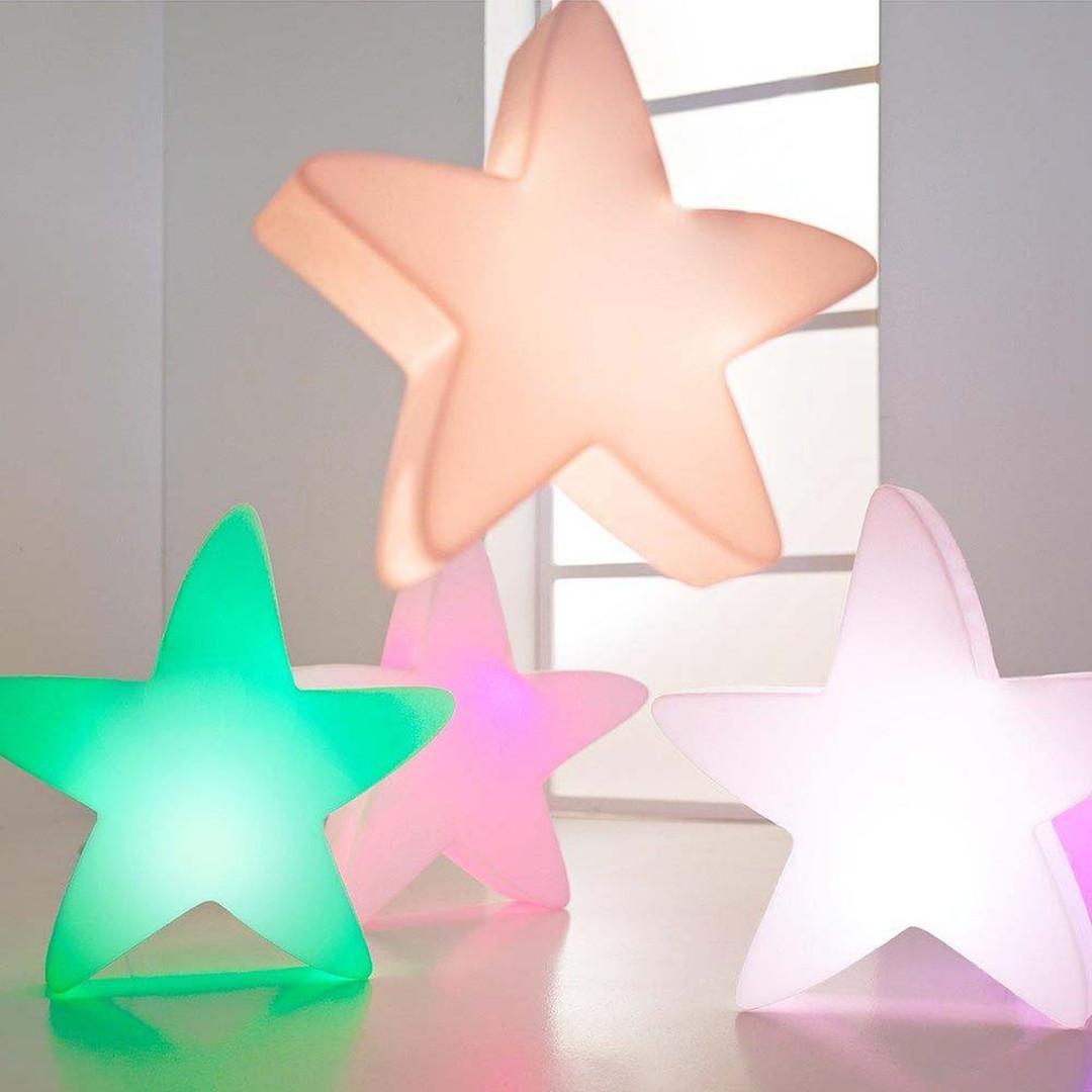 LED Stern Lumenio in Weiss RGB 700x720x150mm - CL120521