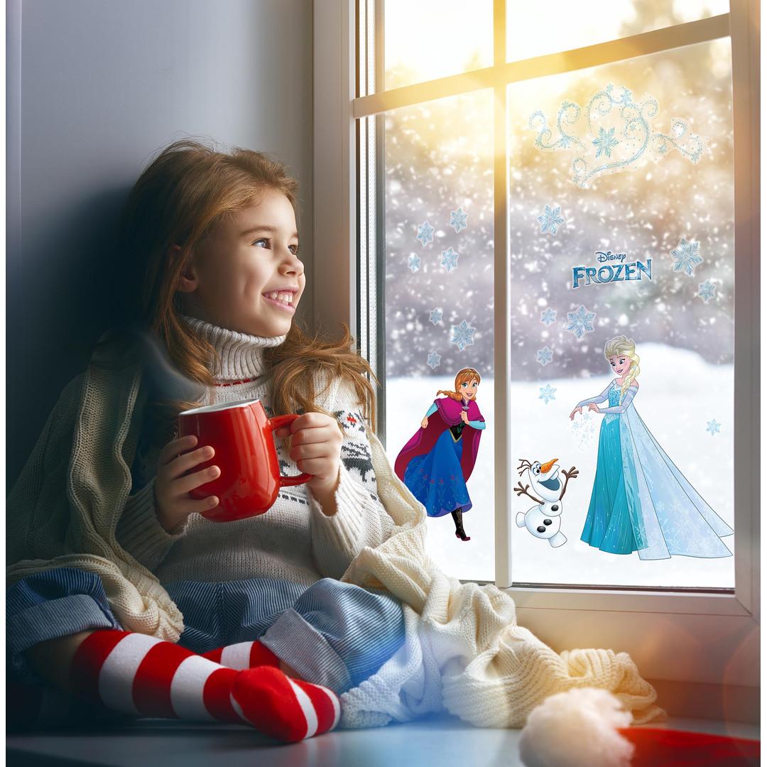 Fenstersticker Frozen Snowflake - KO16408