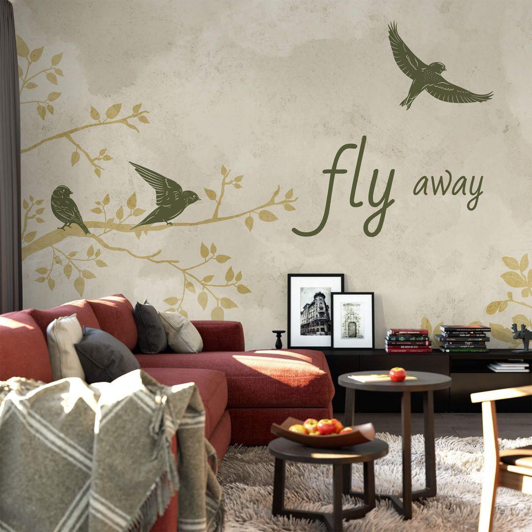 Fototapete - Fly away - WA288735