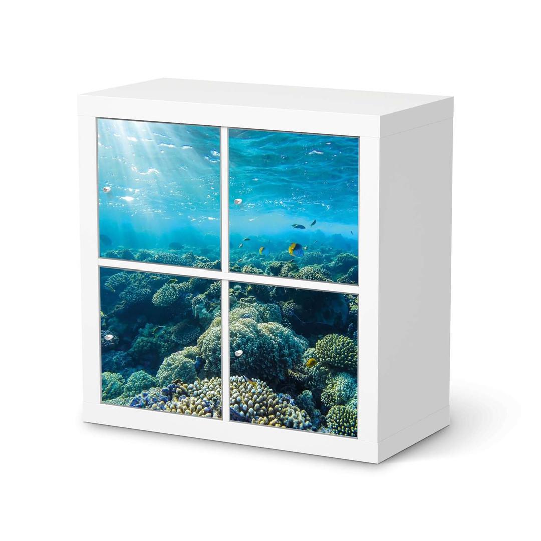 Möbelfolie IKEA Expedit Regal 4 Türen - Underwater World - CR114602