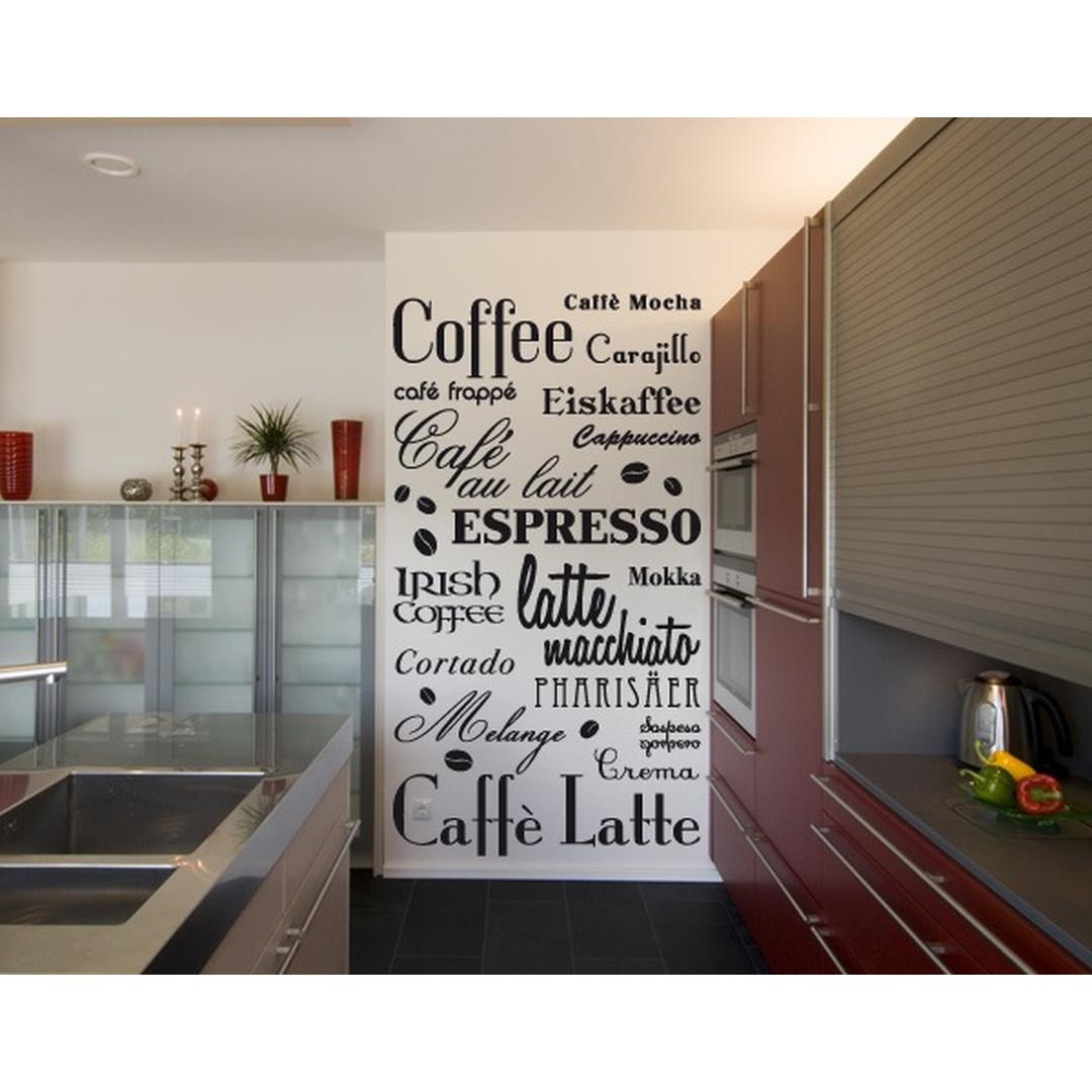 Wandtattoo Coffee & more - TD16002