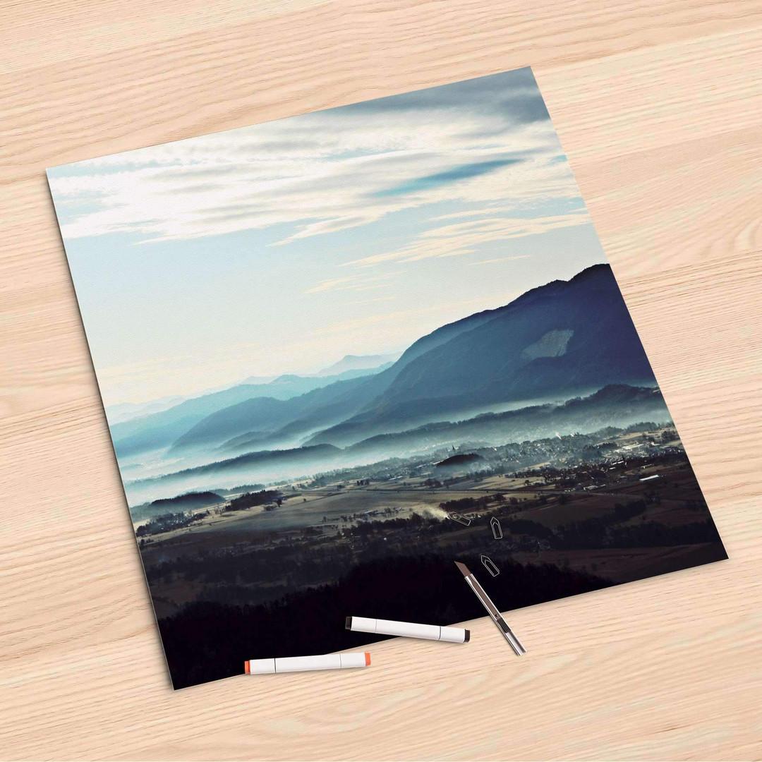 Folienbogen (60x60cm) - Fog Village - CR107078