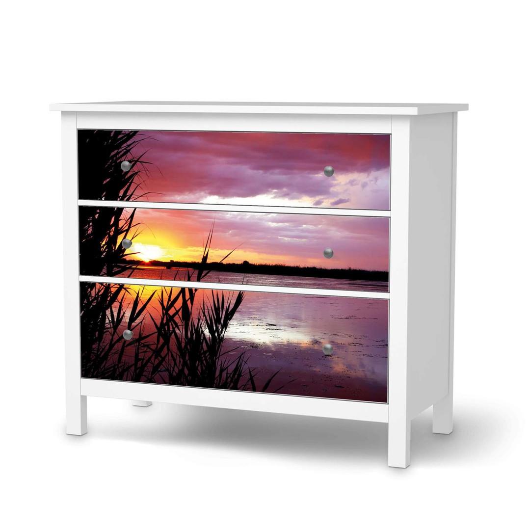 Möbelfolie IKEA Hemnes Kommode 3 Schubladen - Dream away - CR114709