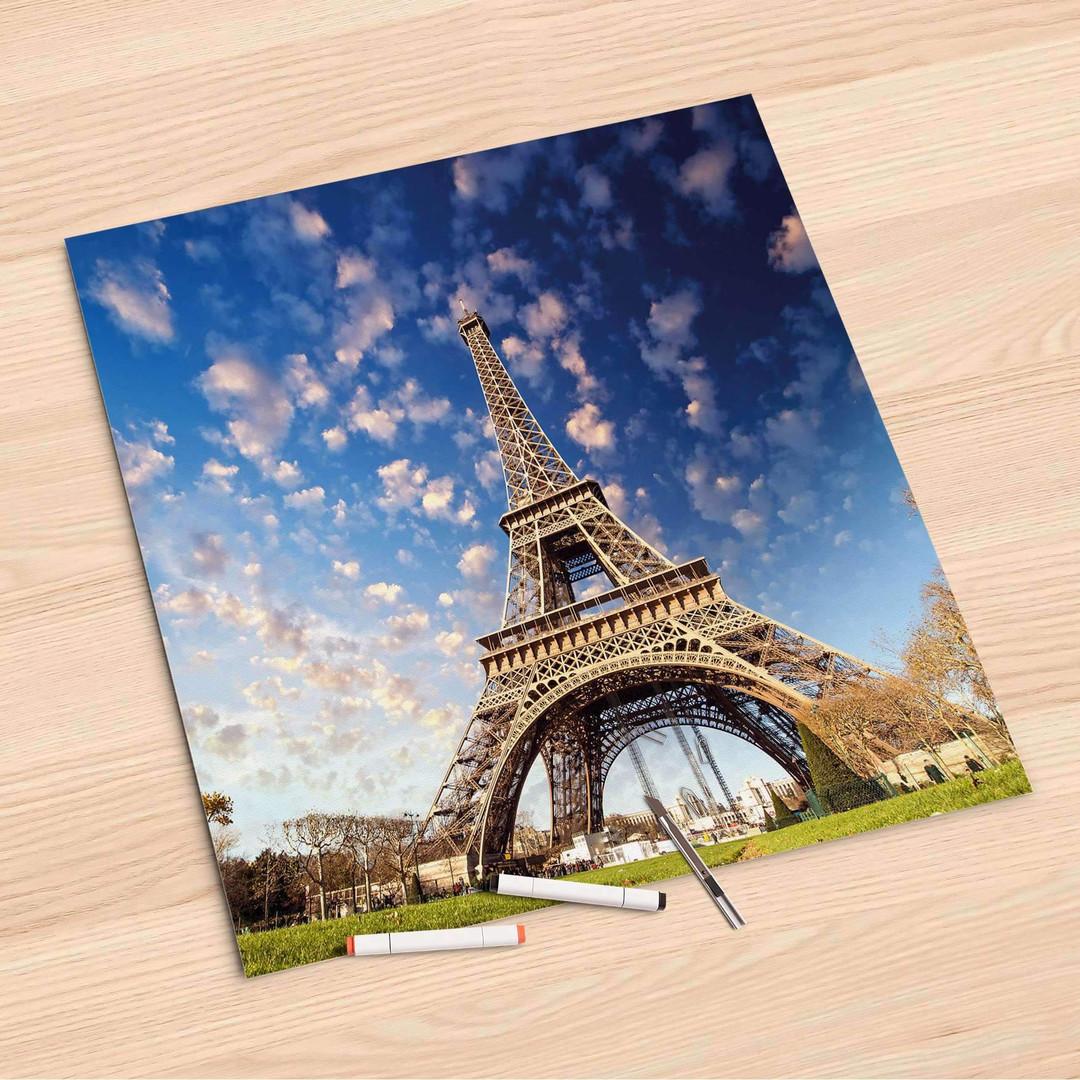 Folienbogen (60x60cm) - La Tour Eiffel - CR107117
