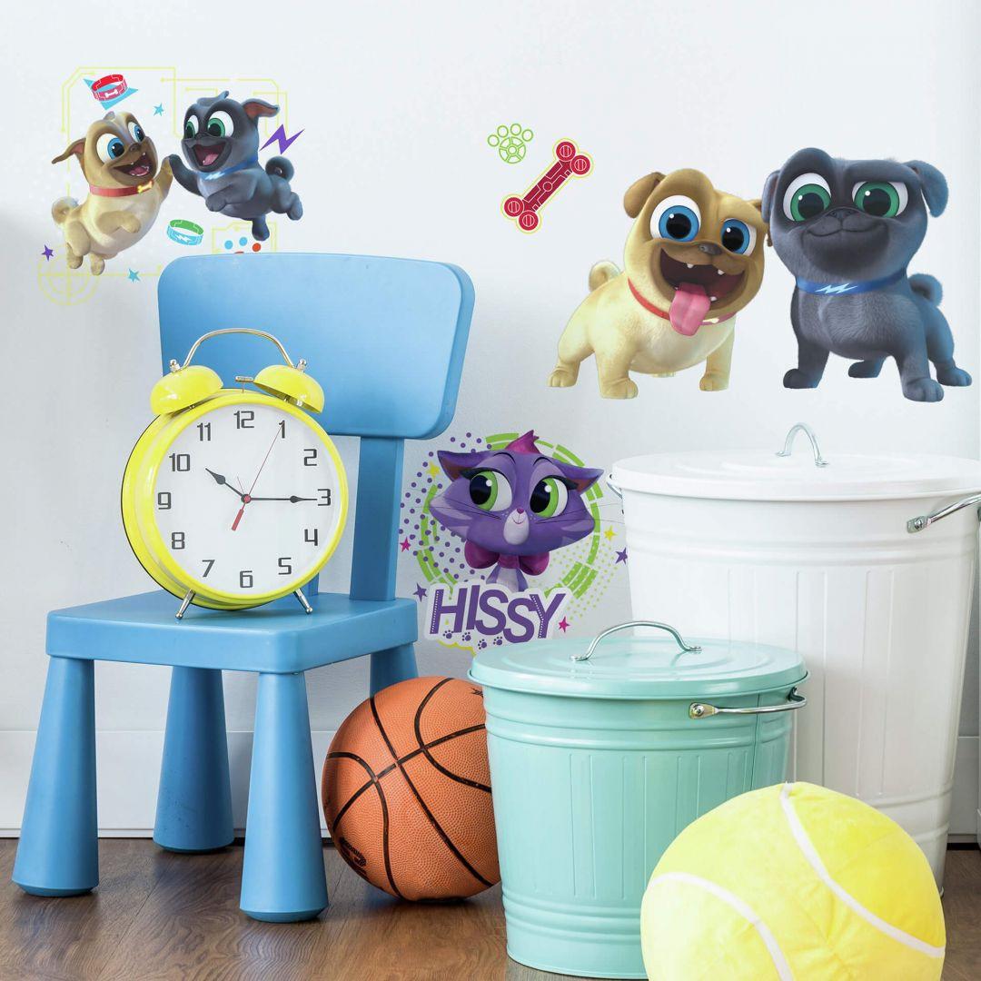 Wandsticker-Set Disney Puppy Dog Pals (Welpen Freunde) - WA260128