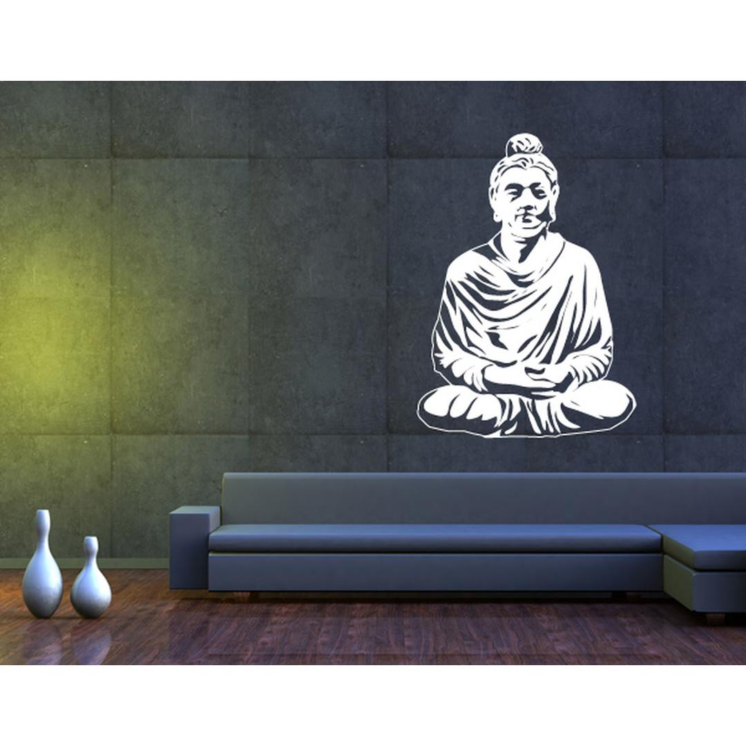 Wandtattoo Meditierender Buddha II - TD16471