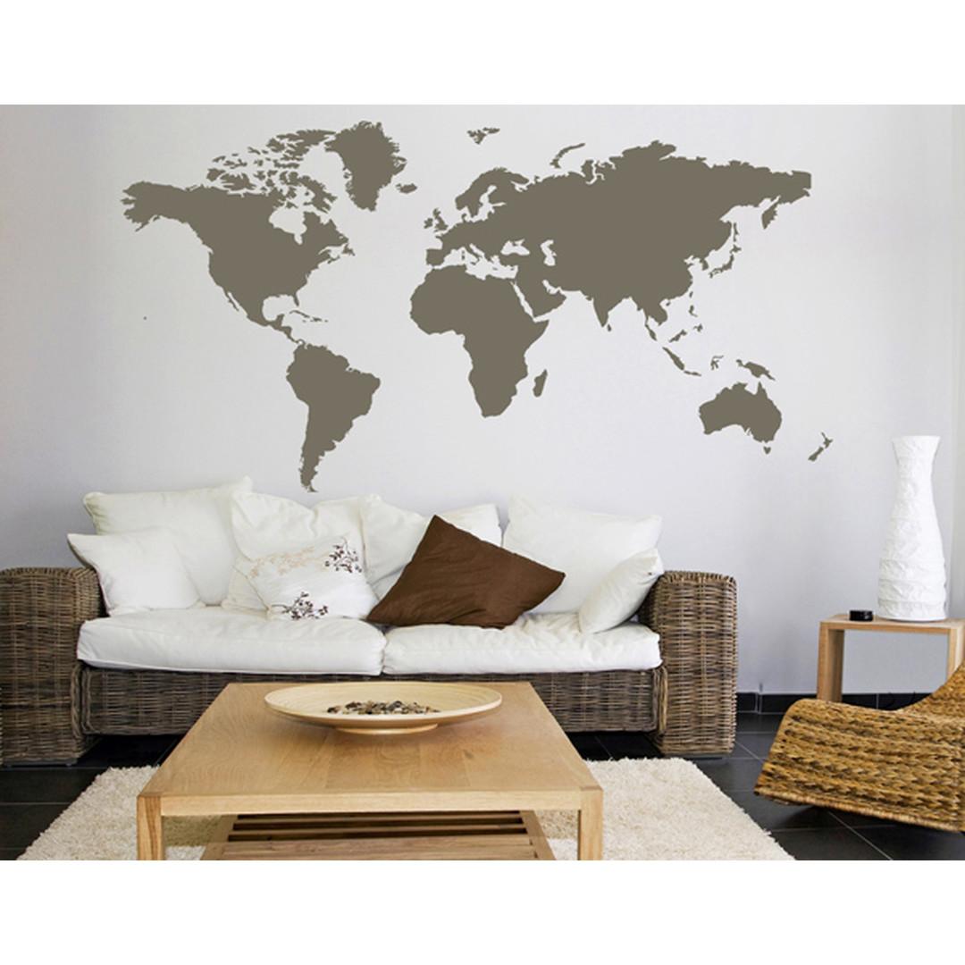 Wandtattoo Weltkarte - CG10144