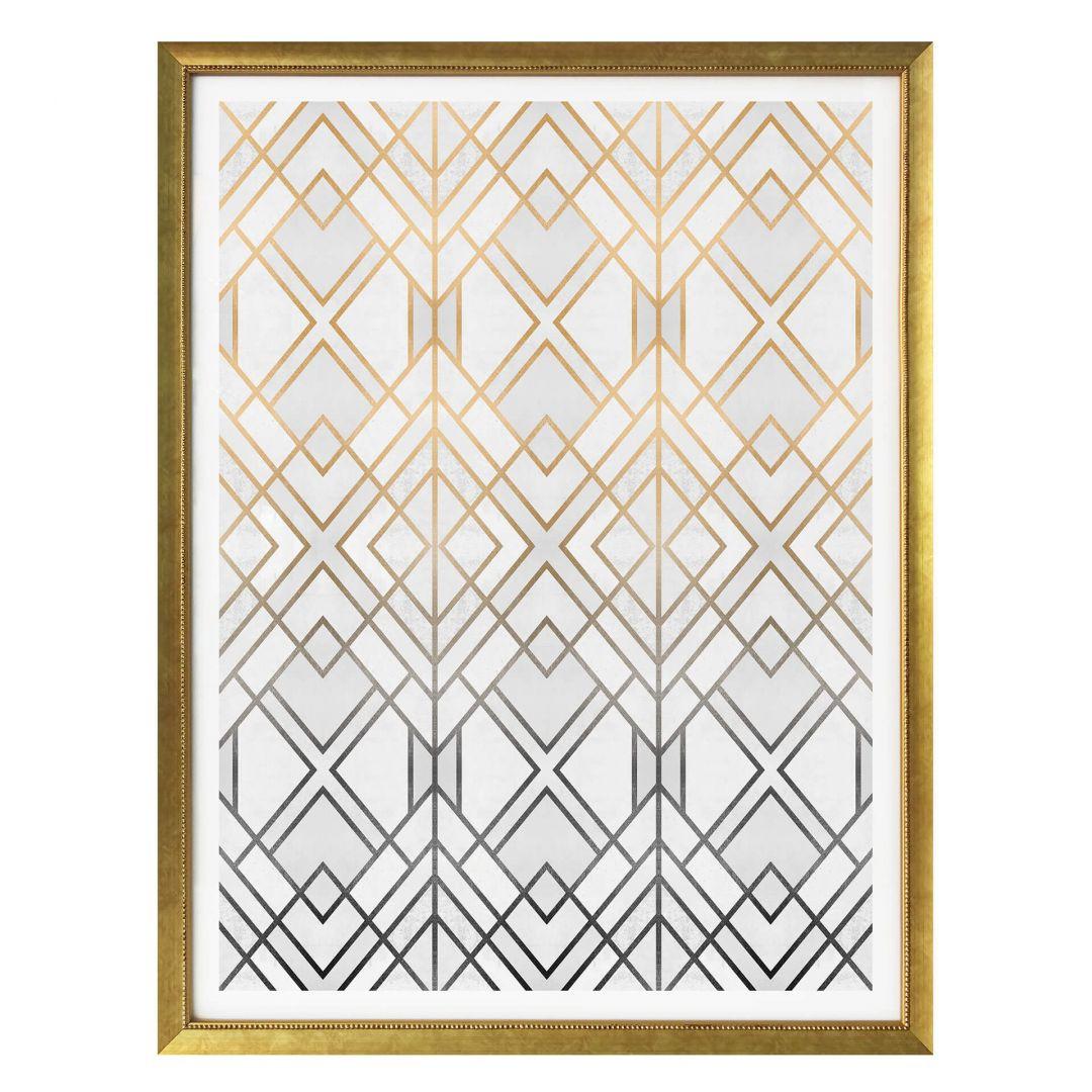 Poster Fredriksson - Gold und Silber - WA257514
