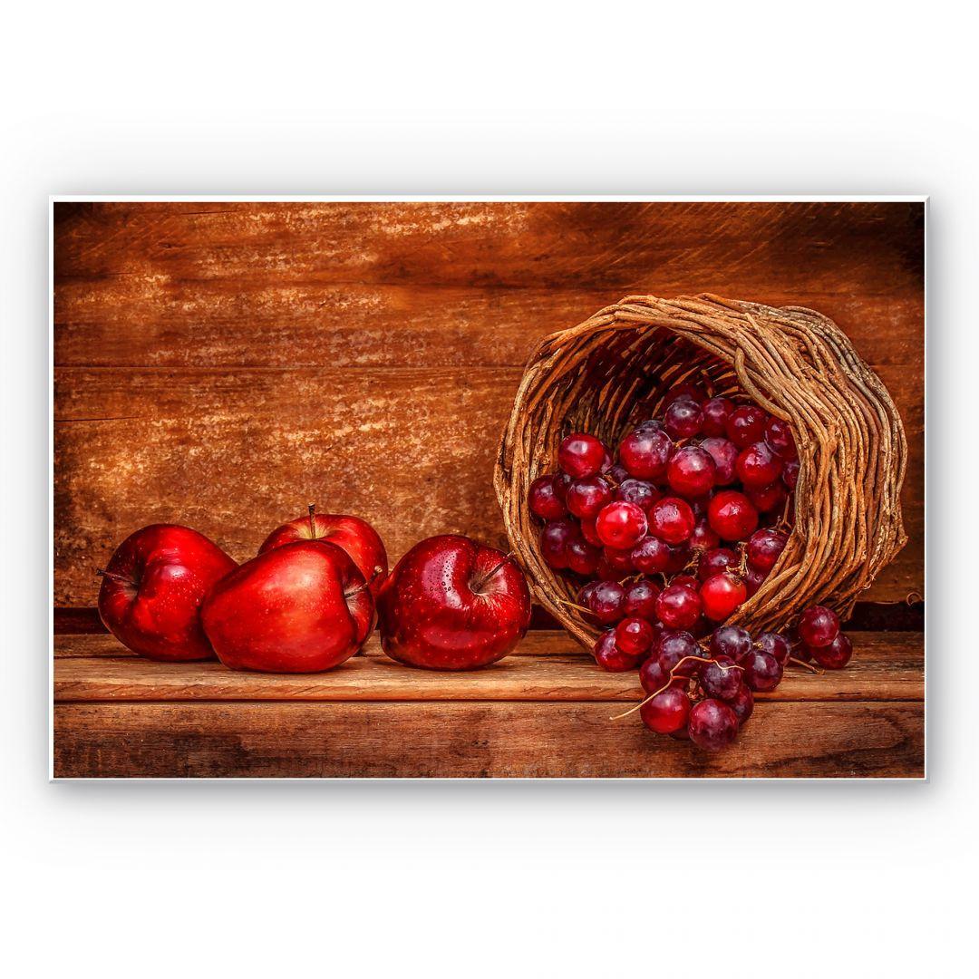 Wandbild mit Früchte Motiven MDF