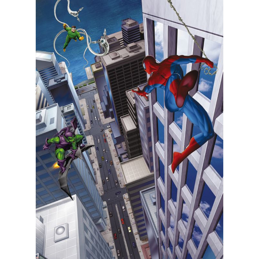 Fototapete Spiderman and Villains - KO4-433