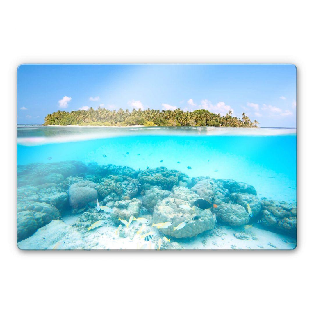 Glasbild Colombo - Unterwasserwelt der Malediven - WA271614
