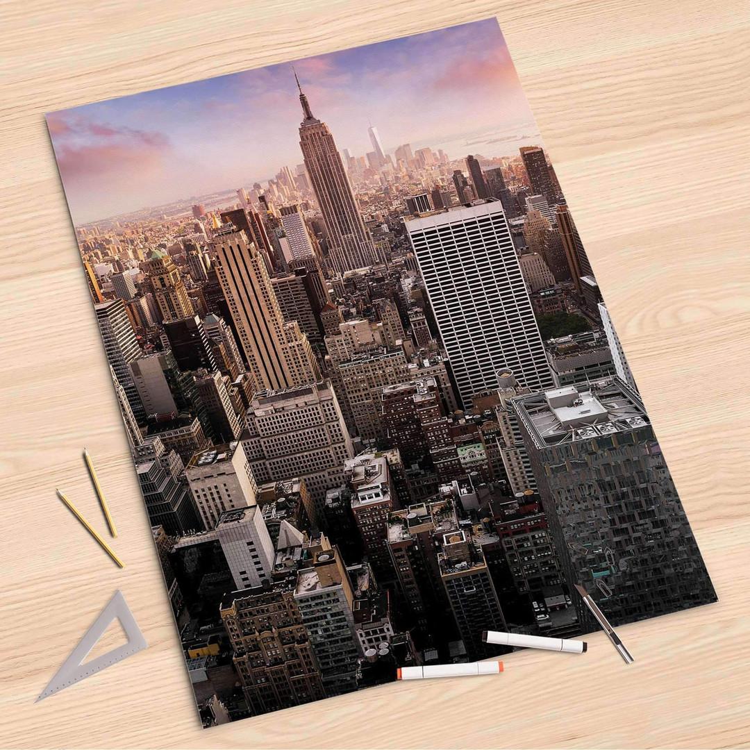 Folienbogen (80x120cm) - Big Apple - CR107269