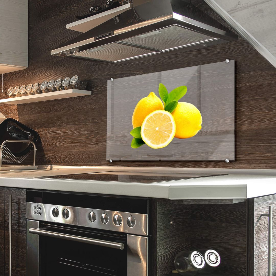 Spritzschutz Lemons - Transparent - WA283570