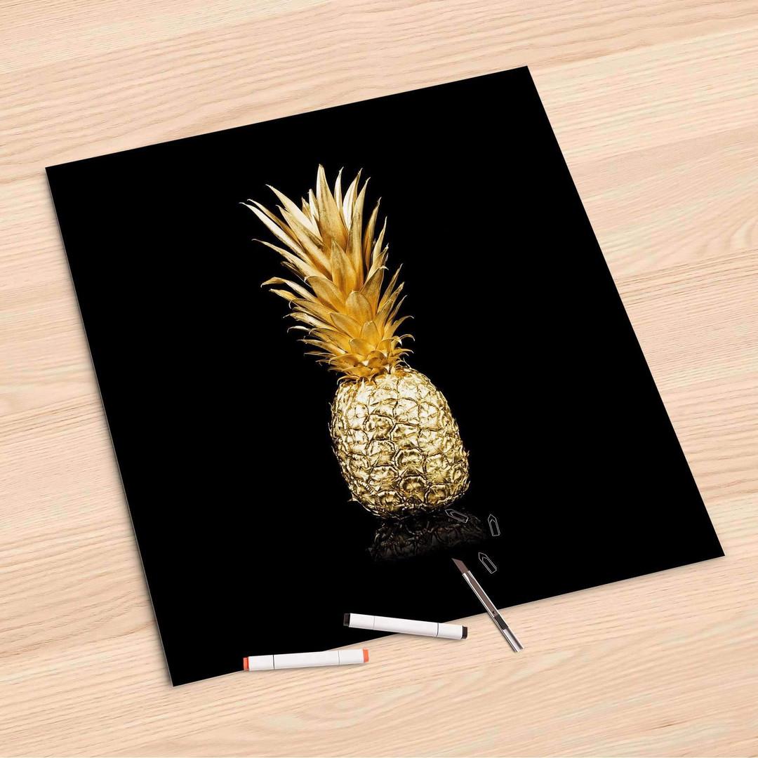 Folienbogen (60x60cm) - Goldenes Früchtchen - CR107089