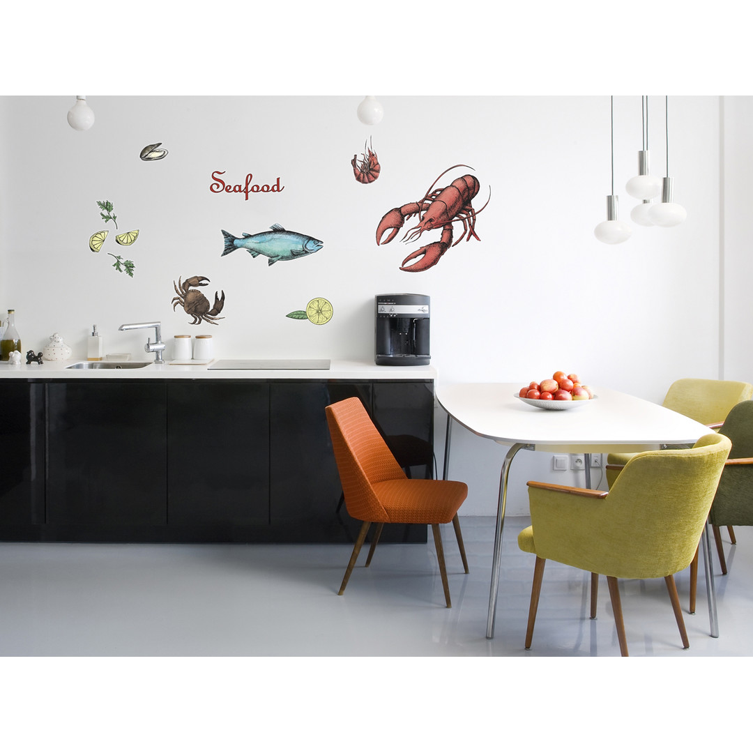 Wandsticker Seafood - KO17053h