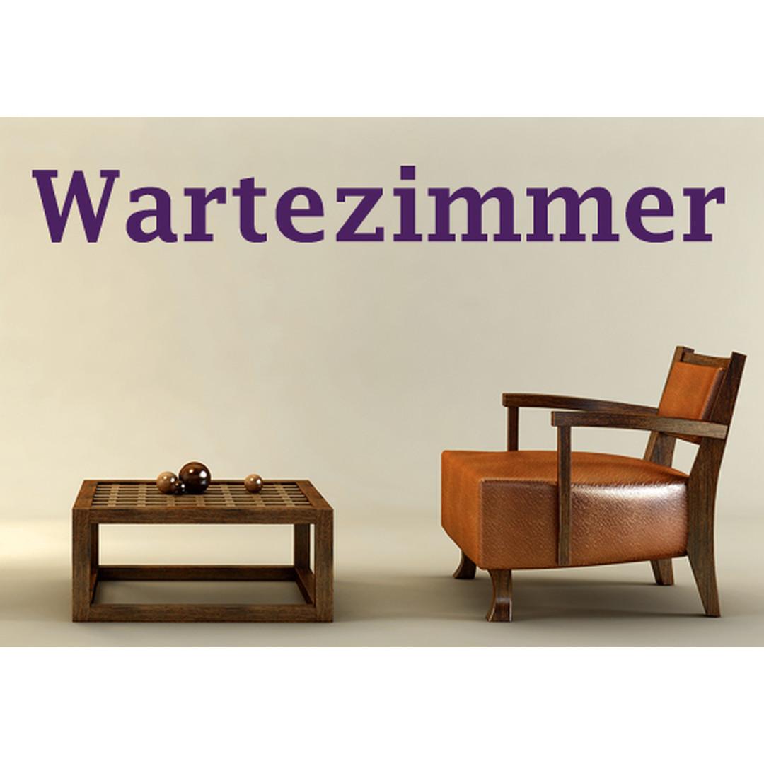 Wandtattoo Wartezimmer 02 - CG10082