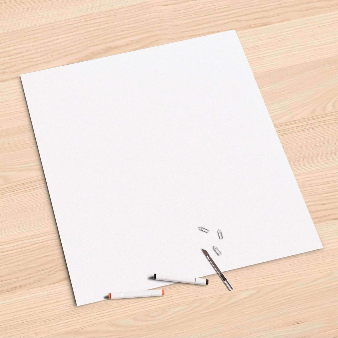 Folienbogen (60x60cm) - Weiss - CR107235