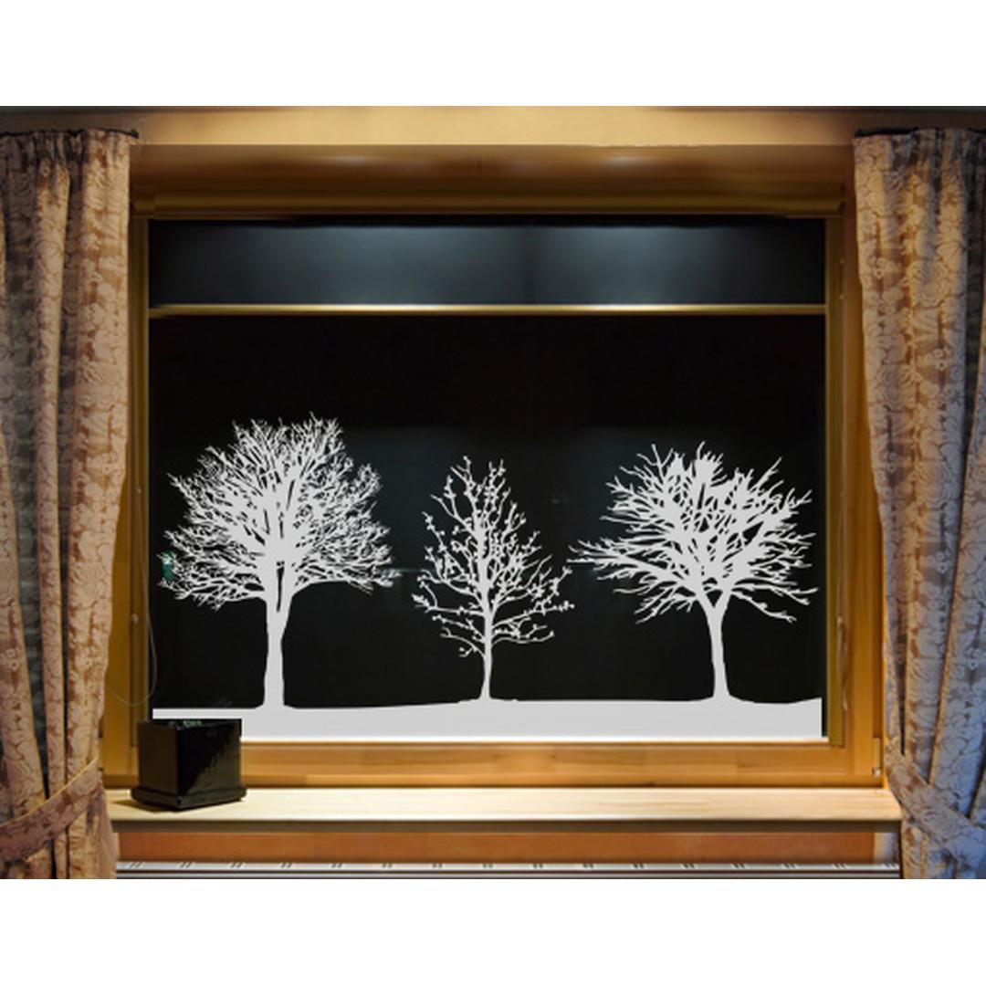 Glasdekor Baumgruppe - CG10362