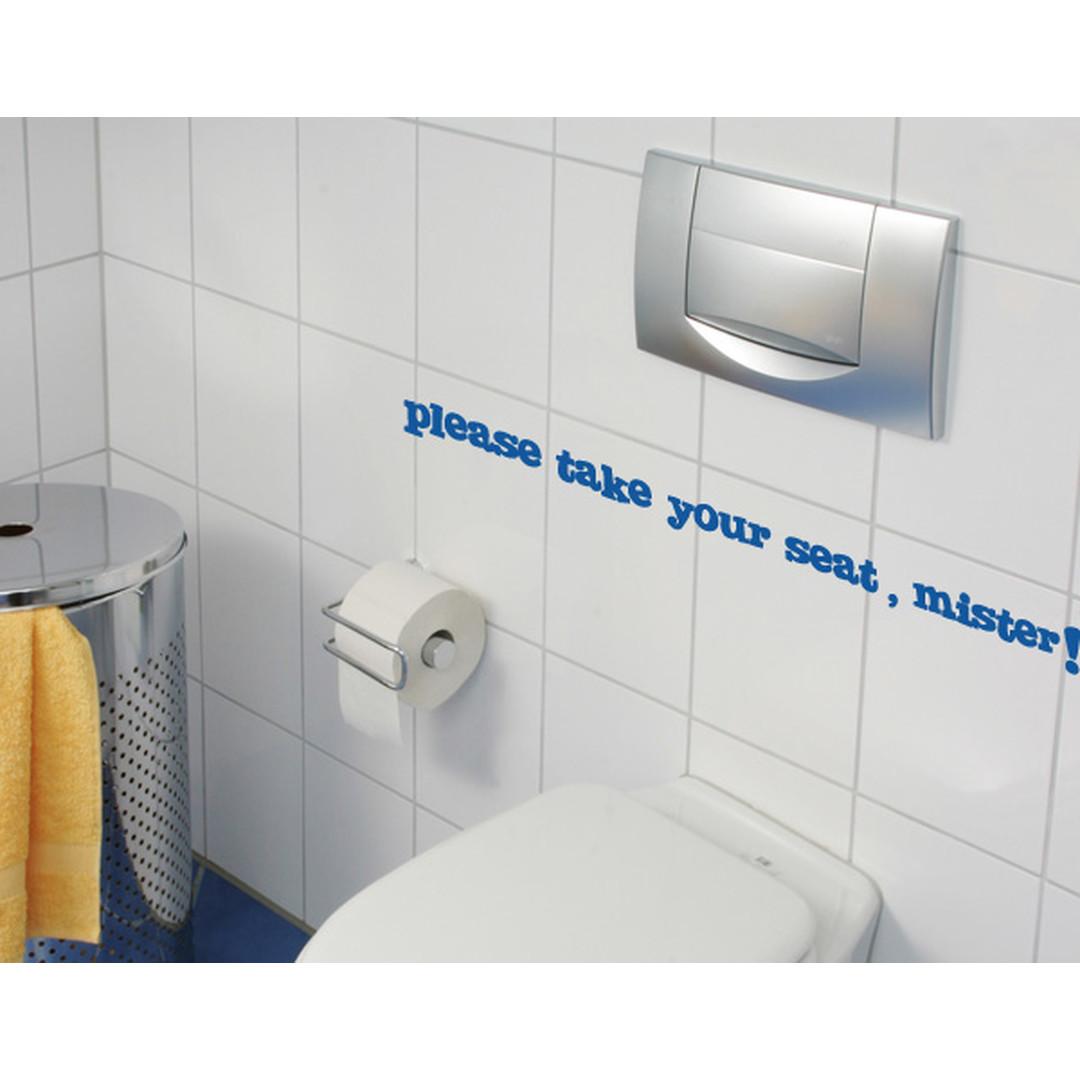 Wandtattoo WC Tipp - TD16415