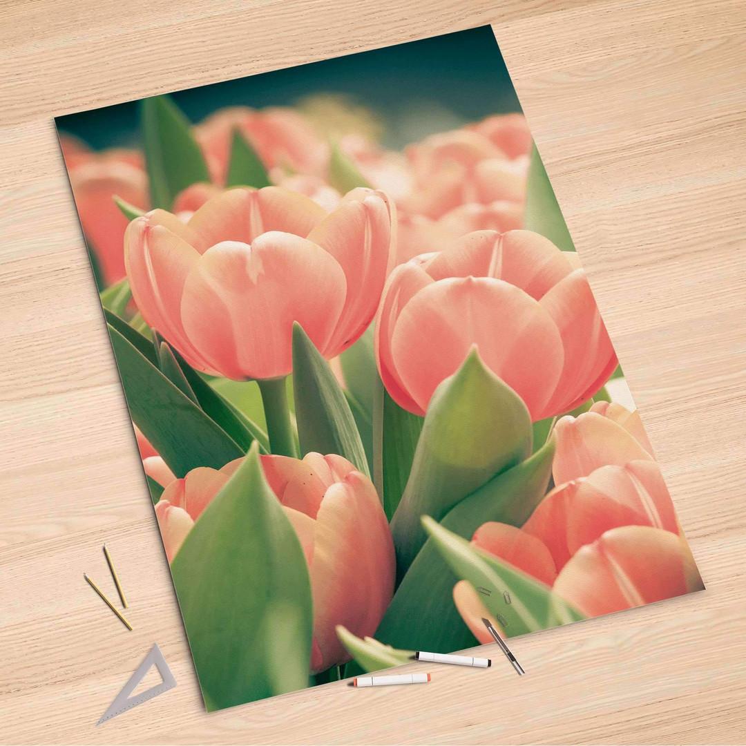 Folienbogen (100x150cm) - Tulips for You - CR106298