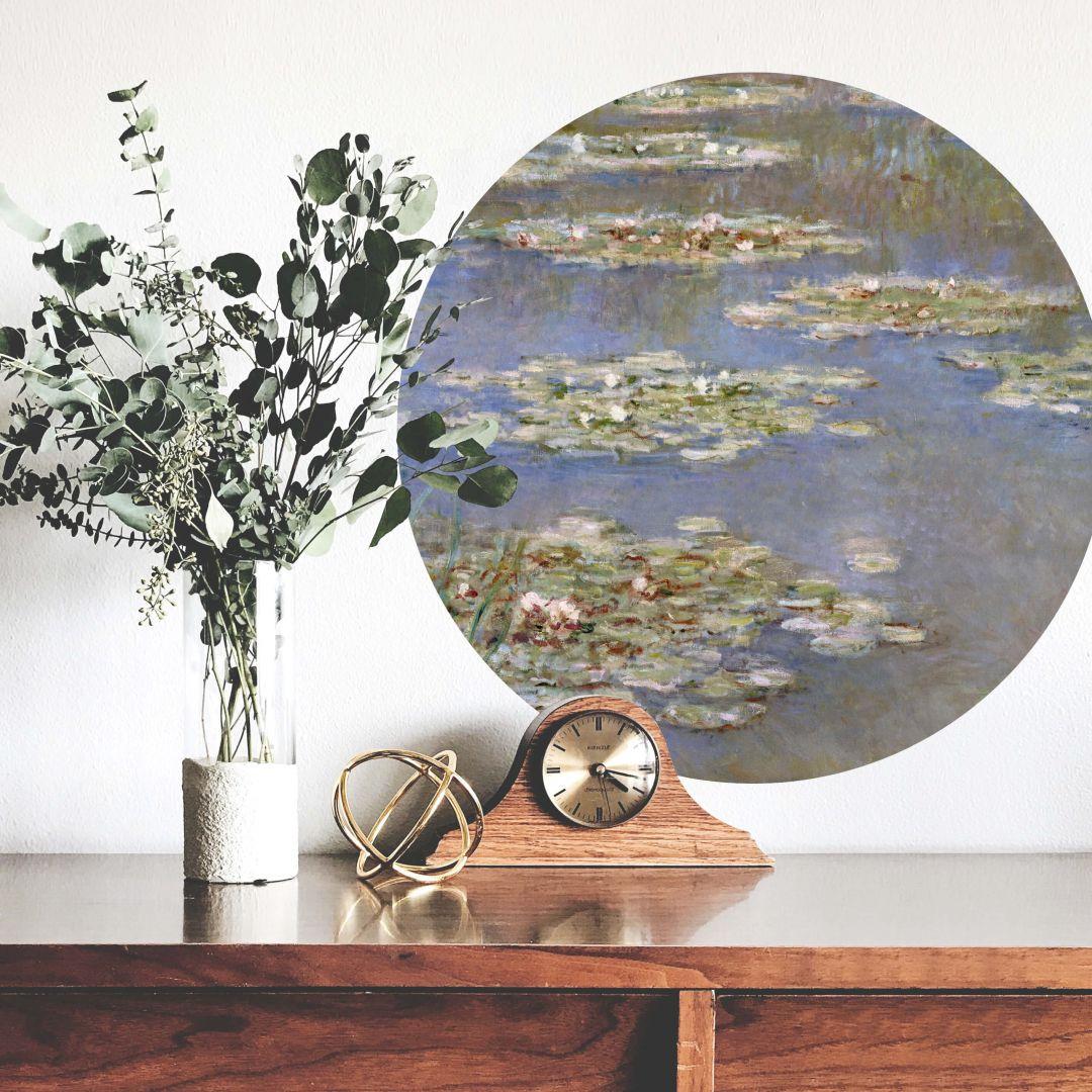 Wandtattoo Monet - Seerosen 1905 - Rund - WA283885